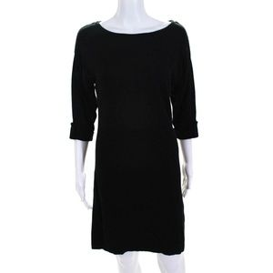 NWT Tart Medium Black Half Sleeve Black Dress